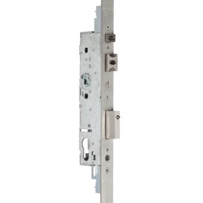 Cerradura el/éctrica de Puerta abatible DC12V Cerradura el/éctrica para Puerta de Entrada Control de Acceso Hotel en casa Ichiias Cerradura magn/ética
